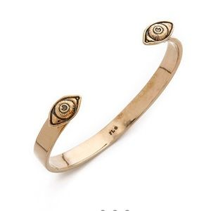 Pamela Love Oculus Bracelet Bronze